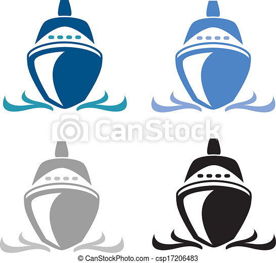 Line art eps picture pictures graphic graphics drawing drawings - Vector Of Cruise Ship Illustrator 8 Vector Art