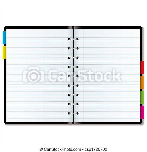 organizer blank - csp1720702