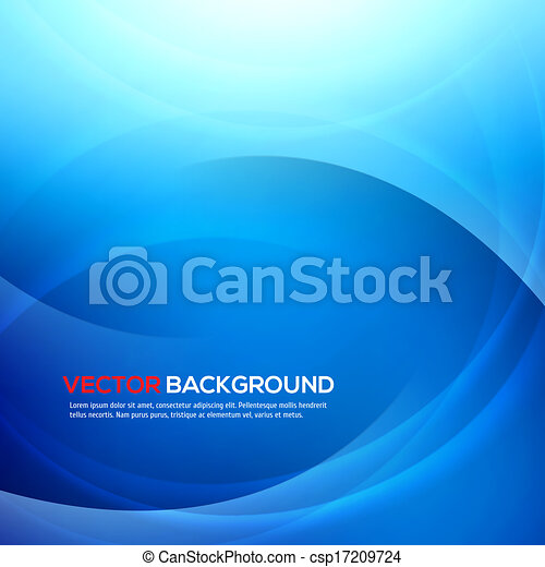 Elegant blue background with place for text. - csp17209724