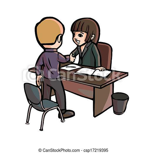 Eps vectores de trabajador sacudida caricatura oficina for Imagenes de oficina de trabajo