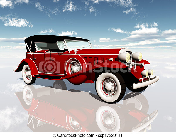 Classic Car Clipart And Stock Illustrations Classic Car