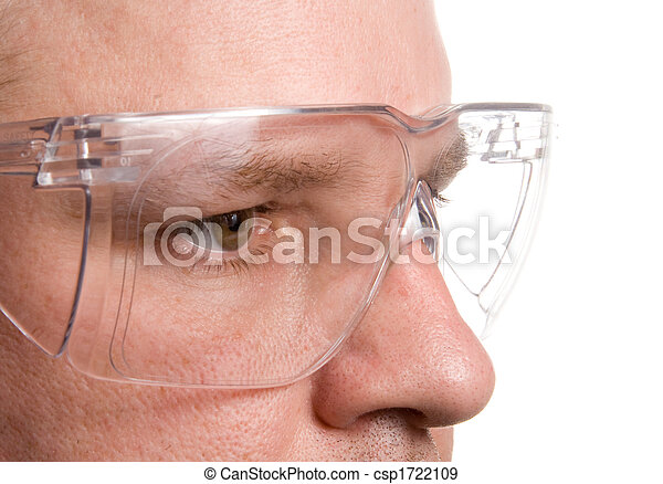 säkerhet, glasögon - csp1722109