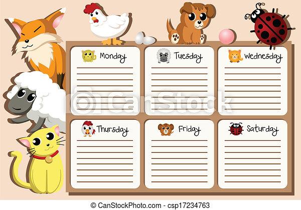 School Timetables to Print School Timetable Design