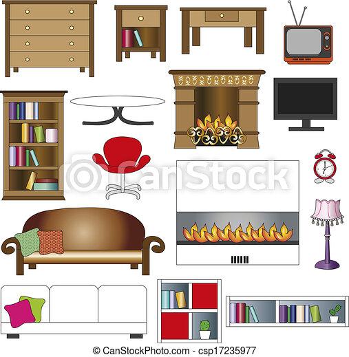 Archivio illustrazioni di interno casa illustrazione for Disegno interno casa