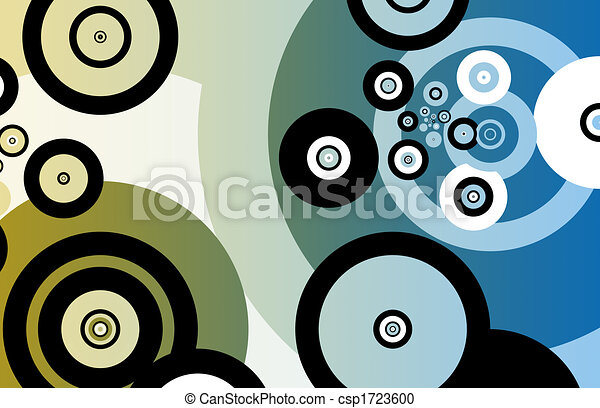 Fun Partying Nightlife Abstract Background - csp1723600