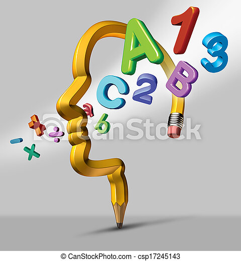 Educação, aprendizagem - csp17245143