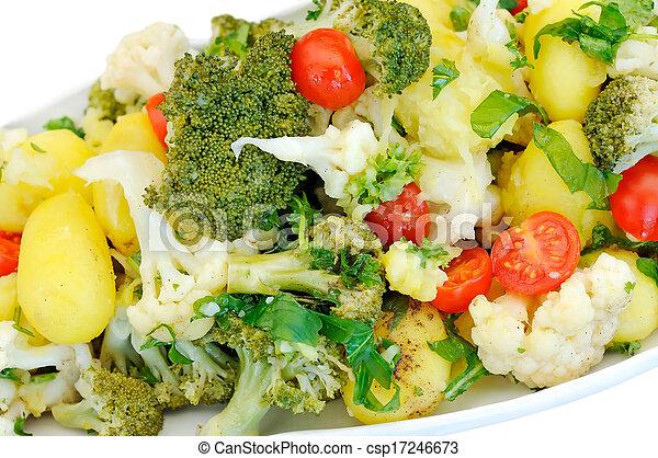 Vegetable salad - csp17246673