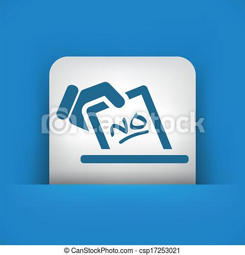 有关投票, 概念, 图标csp17253021的矢量插图-搜索剪