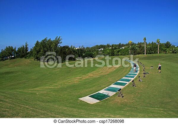 Bermuda golf driving range
