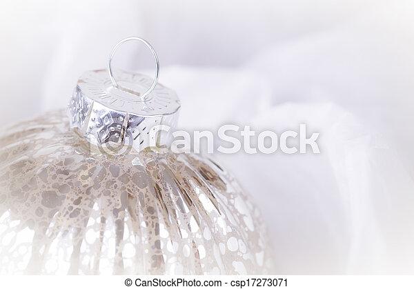 Antique Christmas bauble - csp17273071