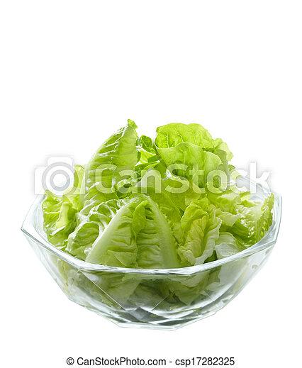 photo de salade verte bol salade verre salade verte salade csp17282325 recherchez. Black Bedroom Furniture Sets. Home Design Ideas