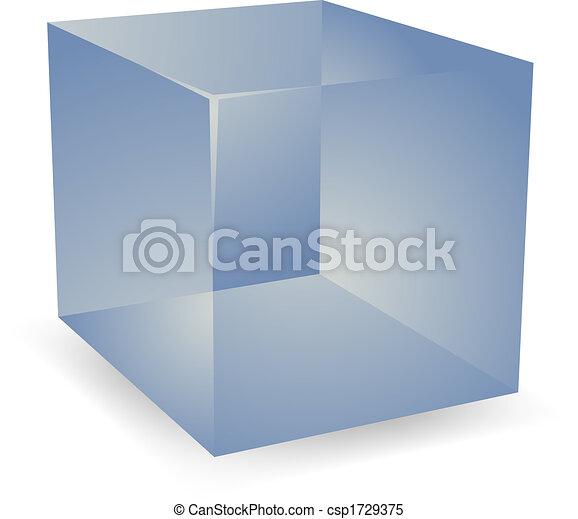 3d Translucent cubes - csp1729375