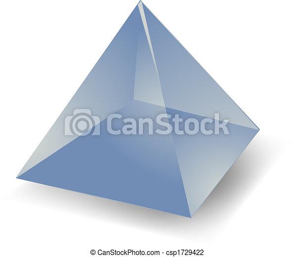 Translucent pyramid - csp1729422