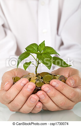 Good investment and money making concept - csp1730074