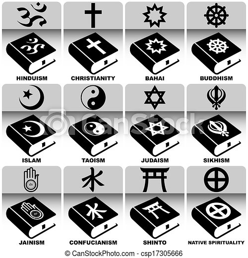 Religions and Holy Books - csp17305666