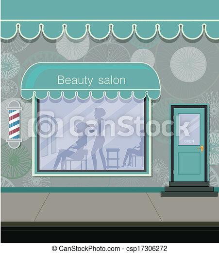 Beauty salon - csp17306272