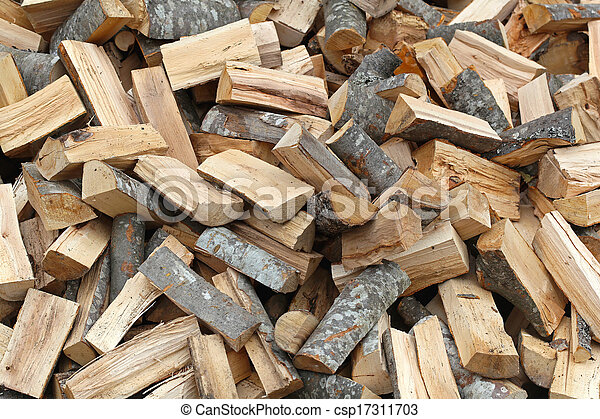 photographies de bois br ler grand tas de fente bois br ler carburant csp17311703. Black Bedroom Furniture Sets. Home Design Ideas