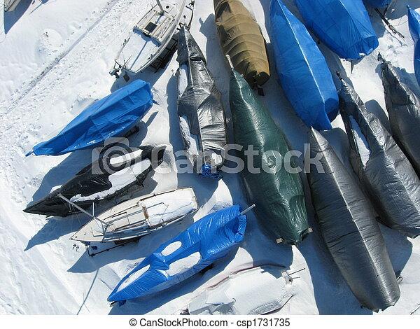 Cocoon sailboats. - csp1731735