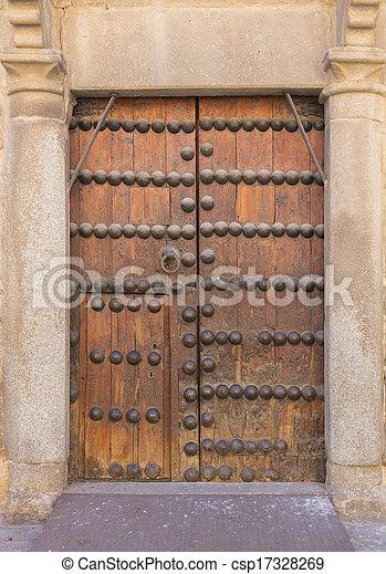 Portas de madeira exterior antigas