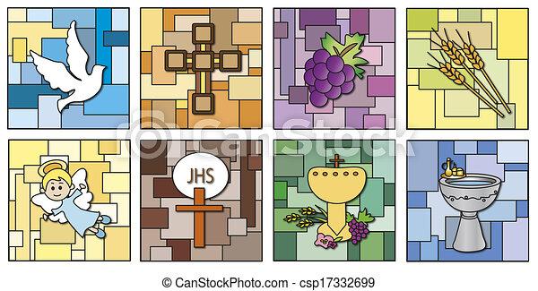 religion icons - csp17332699