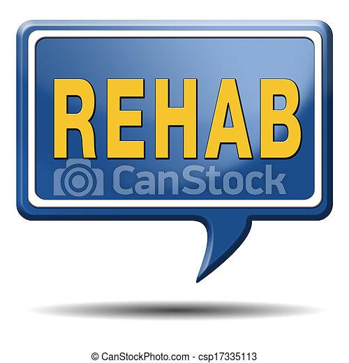 rehabilitation - csp17335113