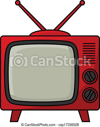 Retro TV - csp17336528