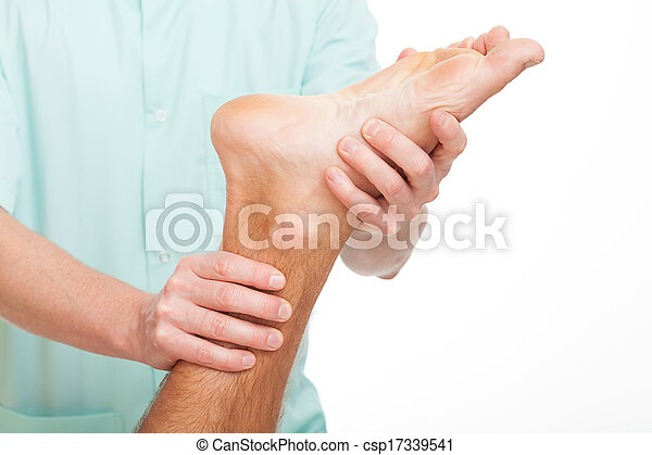 Foot rehabilitation - csp17339541