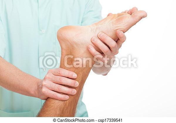 Foot rehabilitation - csp17339541