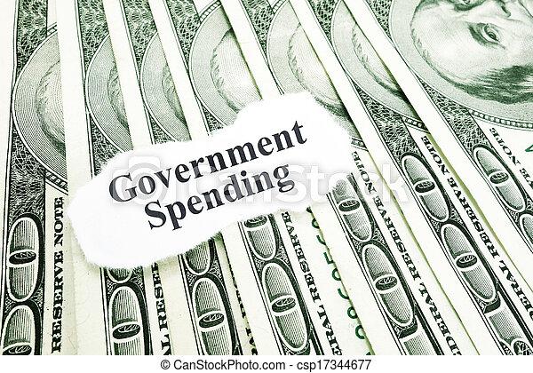 Government spending - csp17344677