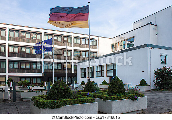Former government building (Bundeshaus) in Bonn, Germany - csp17346815