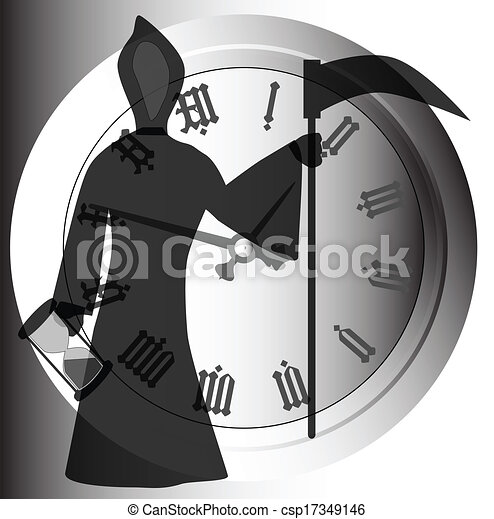 Father time Vector Clip Art Illustrations. 656 Father time clipart ...