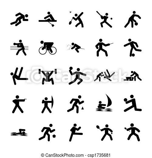 logos of sports - csp1735681