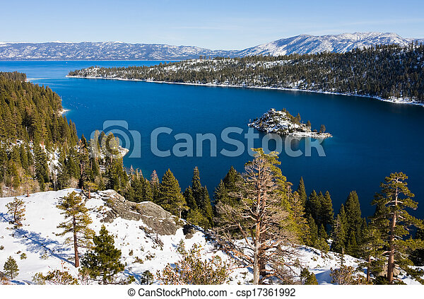 Lake Tahoe  - csp17361992