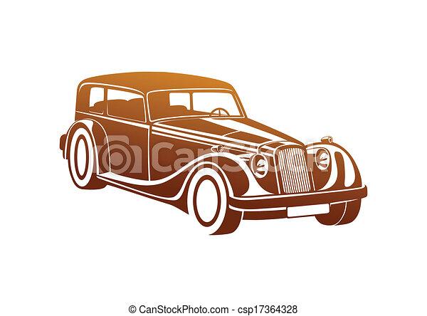 Caramel sport classic automobile - csp17364328