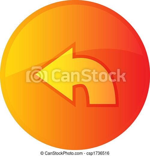 Return navigation icon - csp1736516