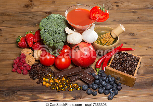 Antioxidants for good health - csp17383308