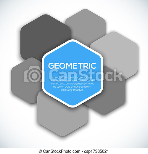 Geometric abstract background. - csp17385021