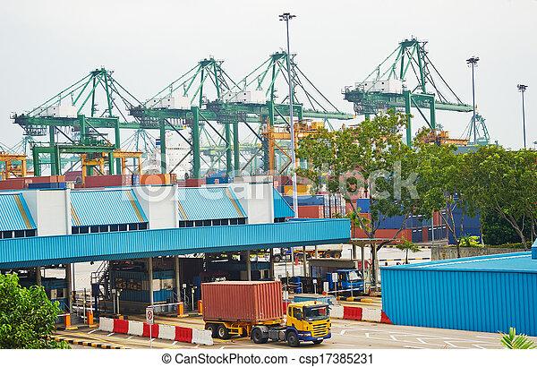Singapore transportation - csp17385231