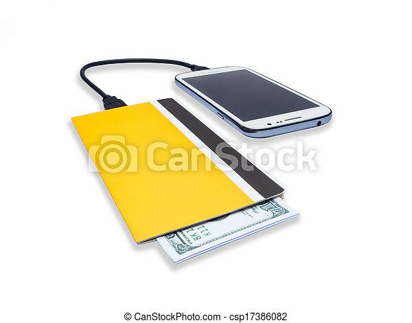 Mobile banking - csp17386082
