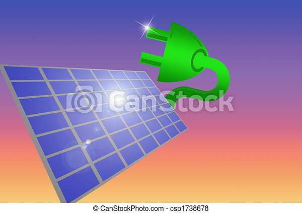 Solar plug - csp1738678