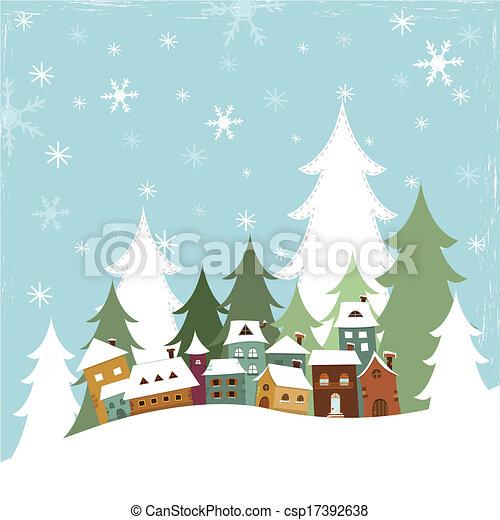 Winter Village - csp17392638