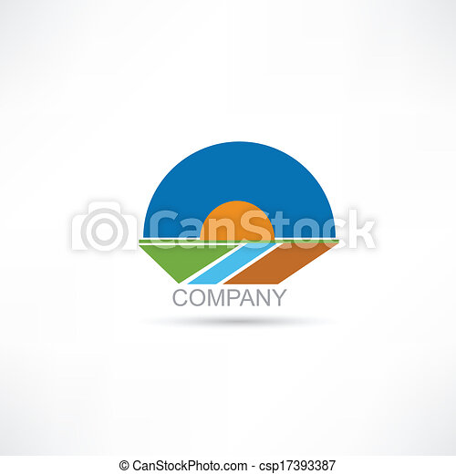 Company Agriculture vector icon - csp17393387