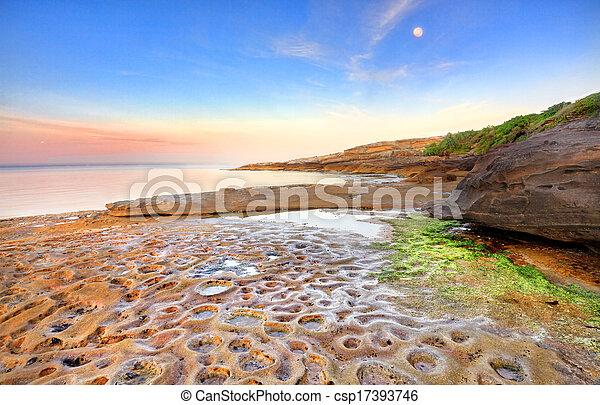 Sunrise at Botany Bay, Australia - csp17393746