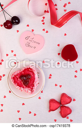 Valentine Day Background - csp17419378