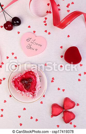 Valentine Day Background - csp17419378