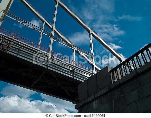 Photo closeup architecture bridges - csp17420064