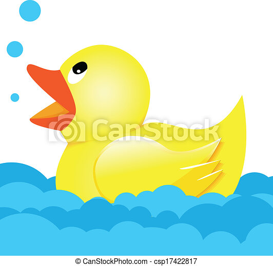 Rubber Duck Illustration Rubber Duck Clipart
