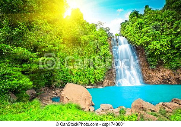 Waterfall - csp1743001