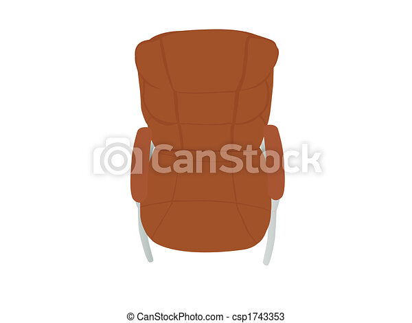 leather chair - csp1743353