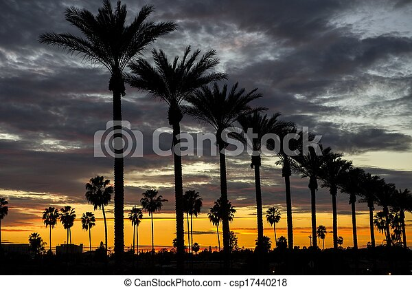 Anaheim Sunset - csp17440218